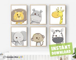 Print Kids Room Printable Wall Decor